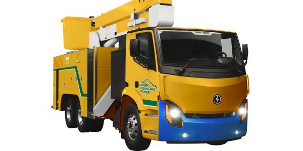 The company will supply the utility with a Lion8 bucket truck for line crews and a Lion6 stake...