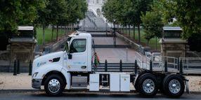 Peterbilt Model 579EV Visits Nation's Capital
