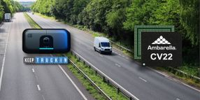 KeepTruckin Partners with Ambarella on AI Dashcam