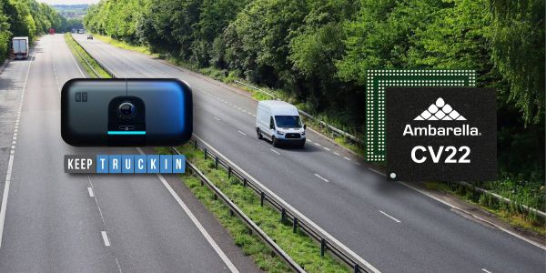 The AI Dashcam is connected to the KeepTruckin Vehicle Gateway, which uploads the pre-analyzed...