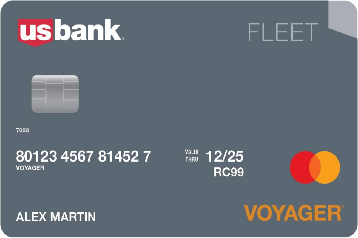 U.S. Bank to Launch Fleet Industry Voyager Mastercard