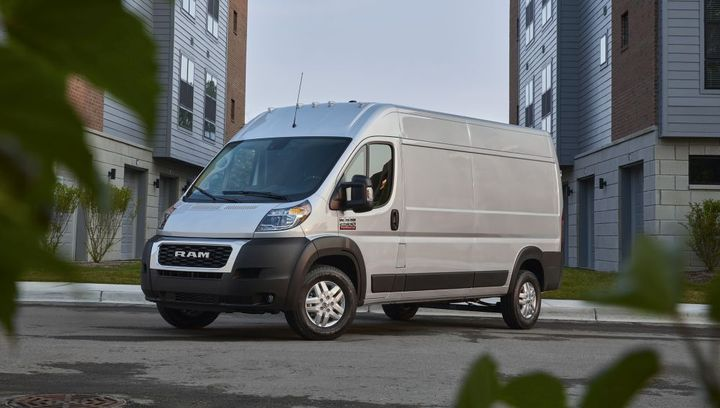 The new 2022 Ram ProMaster features the3.6L Pentastar V-6 engine and is now paired to a segment-exclusive TorqueFlite 9-speed automatic transmission. - Photo: Ram Trucks
