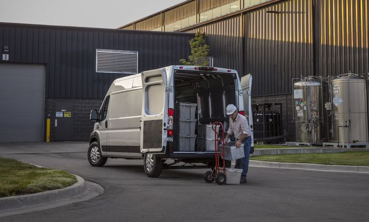 Ram ProMaster features up to 6,910 pounds of towing capability and a best-in-class 4,680 pounds of payload. - Photo: Ram Trucks