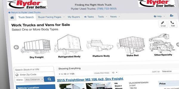 Rydernow has the ability to display its inventory to both the end-user on Comvoy.com and...
