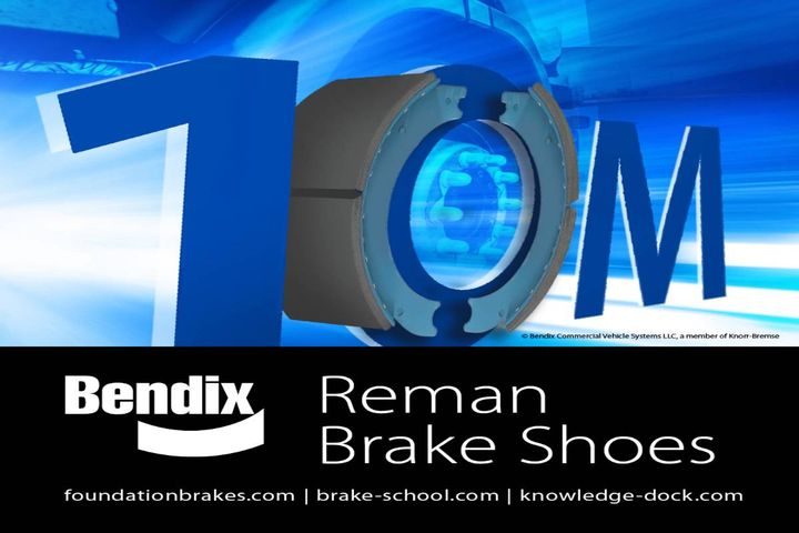 The Bendix Remanufactured Shoe Center Opened in 2012 and expanded in 2014 to more than 74,000 square feet on the Bendix manufacturing campus in Huntington. - Photo: Bendix Commercial Vehicle Systems