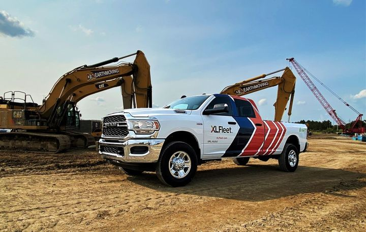 XL Fleet's hybrid electric drive system is now available for Ram 2500 and 3500 Heavy Duty pickup trucks - Photo: XL Fleet