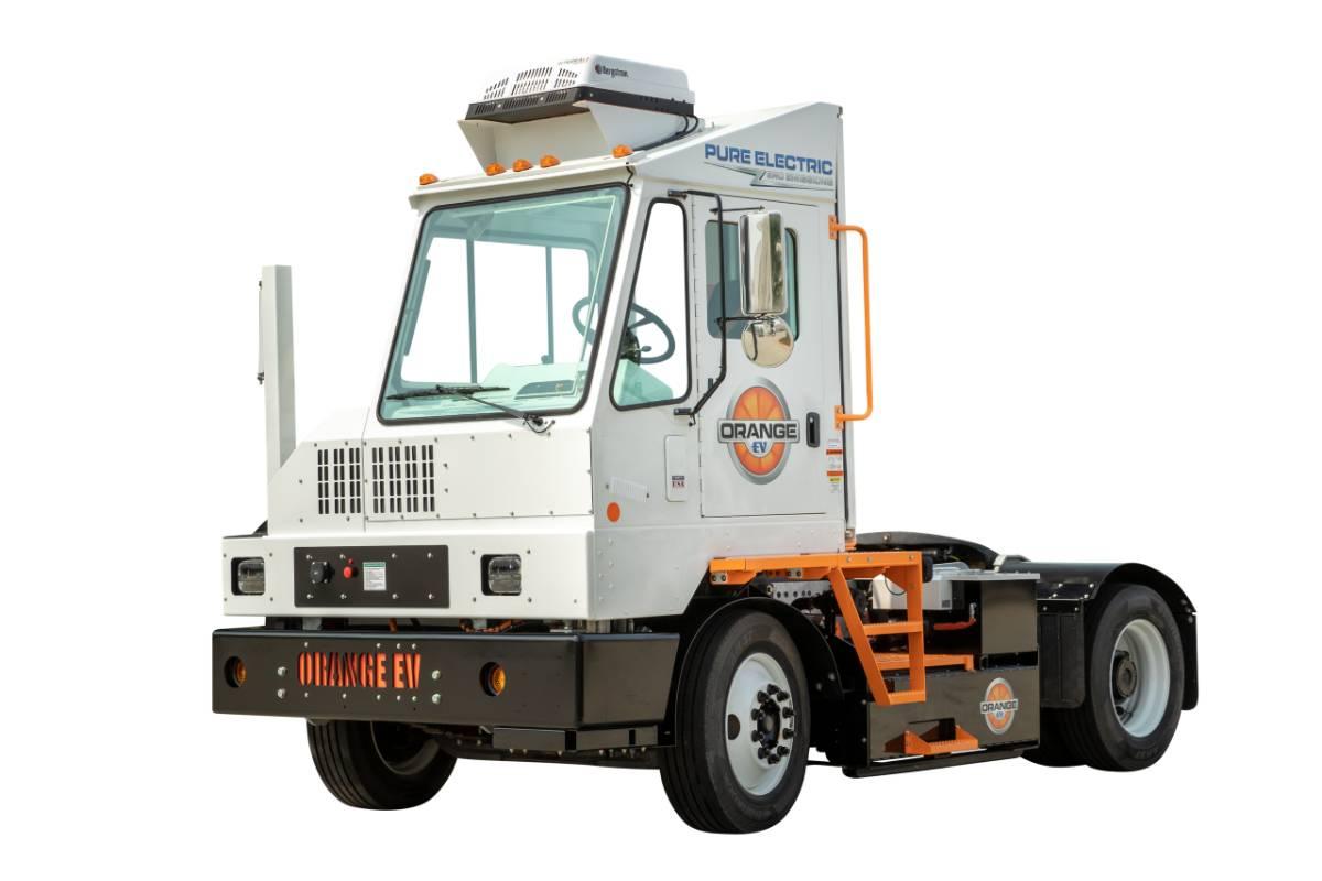 Orange EV, Lazer Spot to Deploy More Than 25 Electric Yard Trucks
