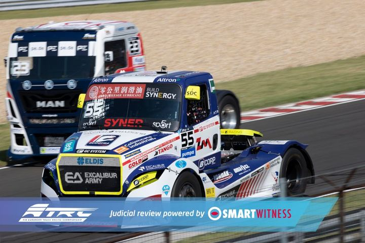 SmartWitness' in-vehicle cameras, recorders and software are installed in the cockpits of all competing ETRC trucks. - Photo: SmartWitness