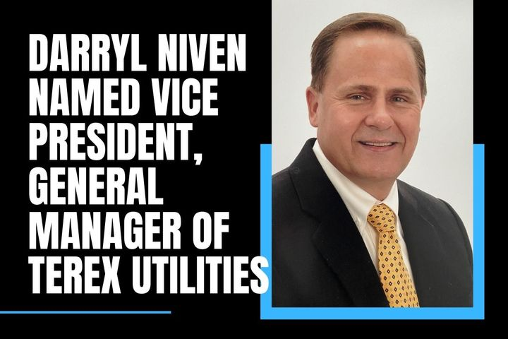 Niven is a business and operations leader with more than three decades of experience leading global heavy manufacturing businesses. - Photo:Terex Utilities