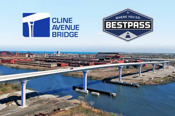 Bestpass is a payment platform provider and manages toll management solutions for commercial fleets in North America. - Photo: Bestpass. Clint Avenue Bridge