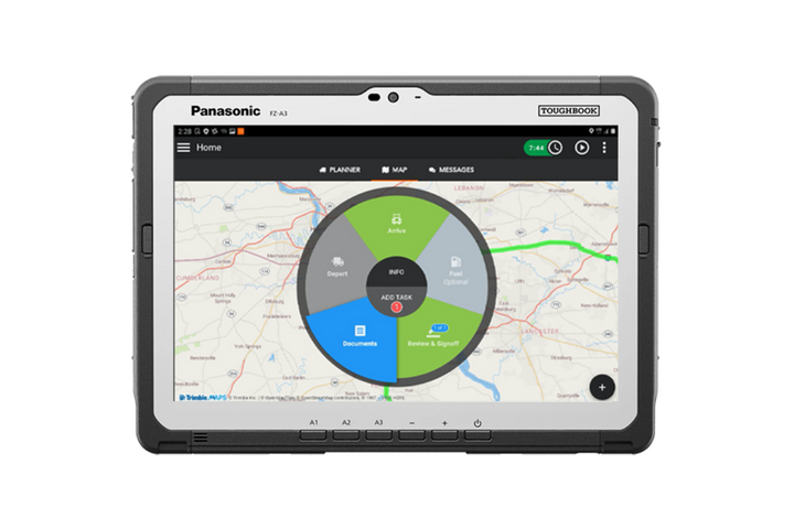Omnitracs One is a transportation platform that helps fleets manage assets and drivers, maintain safety and compliance, and drive efficiency for its fleets or drivers. - Photo: Omnitracs