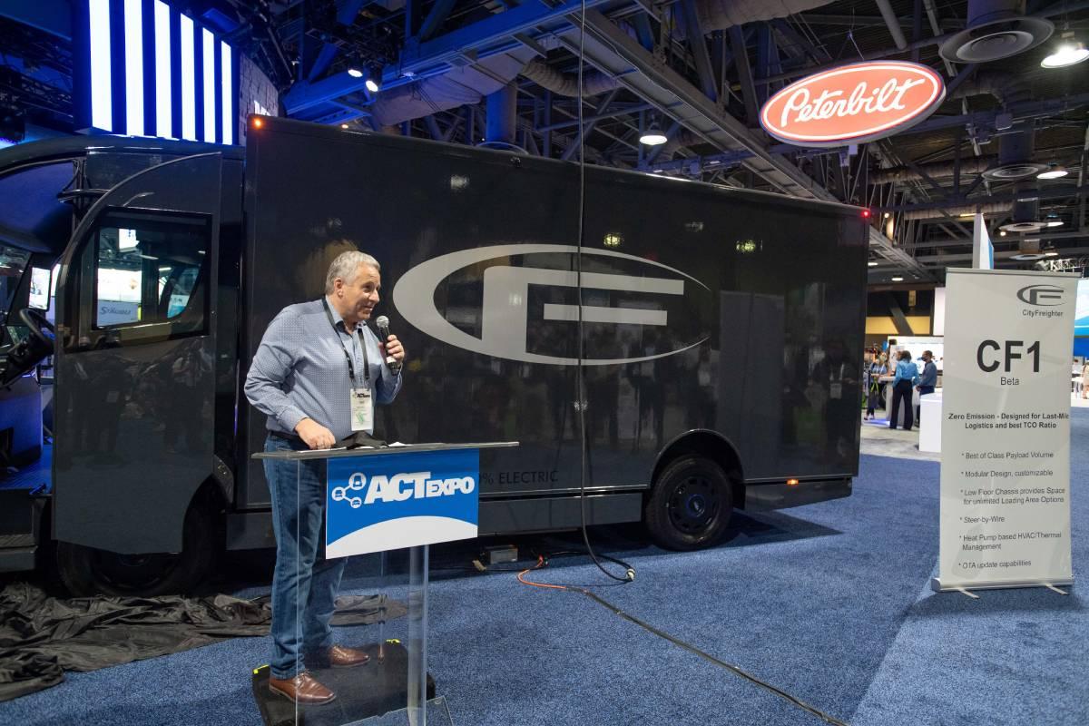 CityFreighter Unveils CF1 Electric Last‐Mile Delivery Box Van