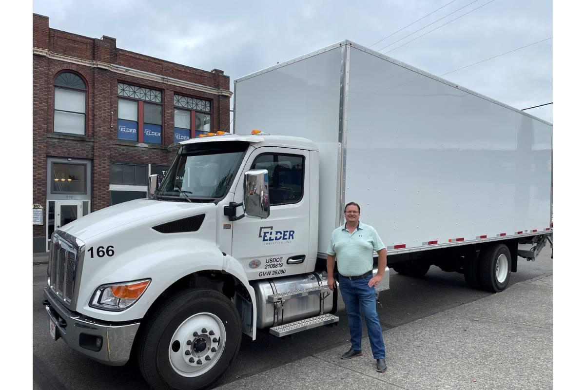 Peterbilt Delivers New Medium-Duty Model 536 to Elder Logistics