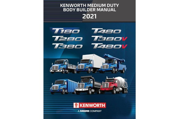Kenworth has published a comprehensive, 132-page online body builder manual focused on its new medium conventional lineup ranging from Class 5 to light Class 8 models. - Photo: Kenworth