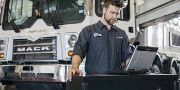 The optional premium service agreement may be added to new truck purchases or added to trucks in...