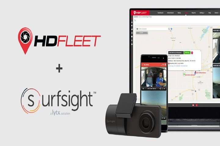 HD Fleet will offer Lytx's Surfsight portable video event data recorder (VEDR) to delivery service providers. - Photo: Lytx