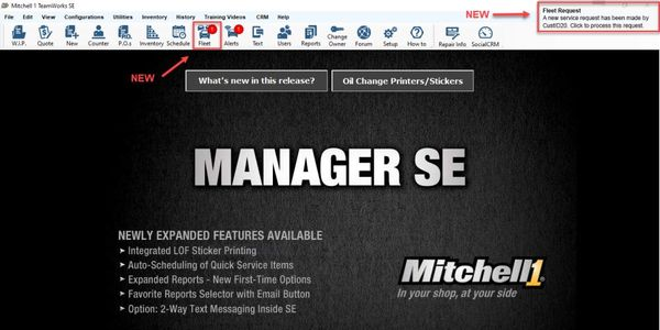 Manager SE Truck Edition is specifically designed to work in tandem with TruckSeries, Mitchell...