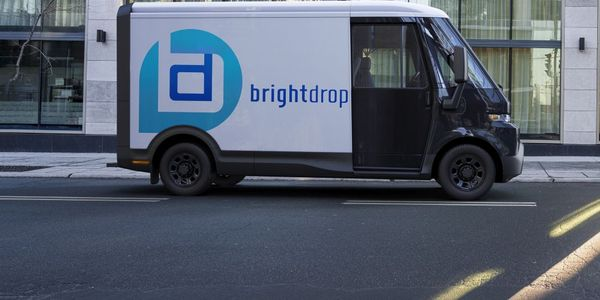 The BrightDrop EV410 is a medium-size electric light commercial vehicle.