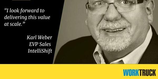 Karl Weber was named EVP of sales for IntelliShift.