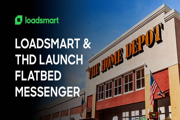 The Home Depot will focus on the customer experience, reducing empty miles, lowering its carbon footprint, and helping other shippers and carriers by sharing truck capacity. - Photo: Loadsmart