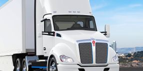 Camionnage CP First to Order Kenworth T680E EV in Canada