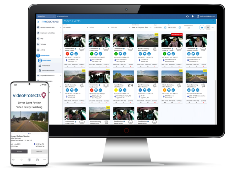 J.J. Keller Launches VideoProtects on Geotab Marketplace