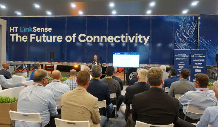 Hyundai Translead officials said HT LinkSense marks the next evolution in fleet data strategy. - Photo: HDT/Vesna Brajkovic