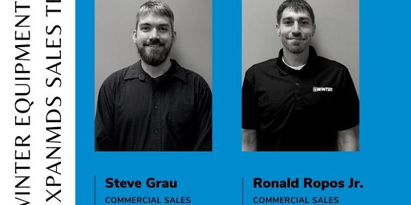 Winter Equipment announced the additions of two new members to its commercial sales team.