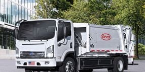 Maryland Municipality Operates First Fully-Electric Trash Truck