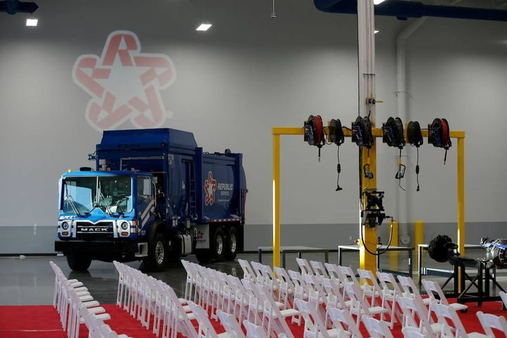 The next generation trade school provides high-tech education and student compensation. - Photo: Republic Services