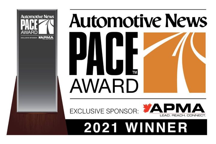 The award recognizes automotive suppliers for superior innovation, technological advancement, and business performance. - Photo: Work Truck Solutions