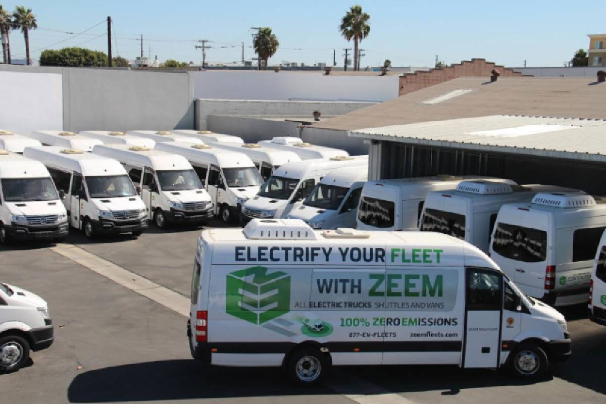 Zeem Solutions Takes Delivery of 24 Greenpower EV Stars