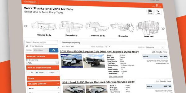 The web platform and data from Work Truck Solutions powers Monroe Truck Equipment's national...