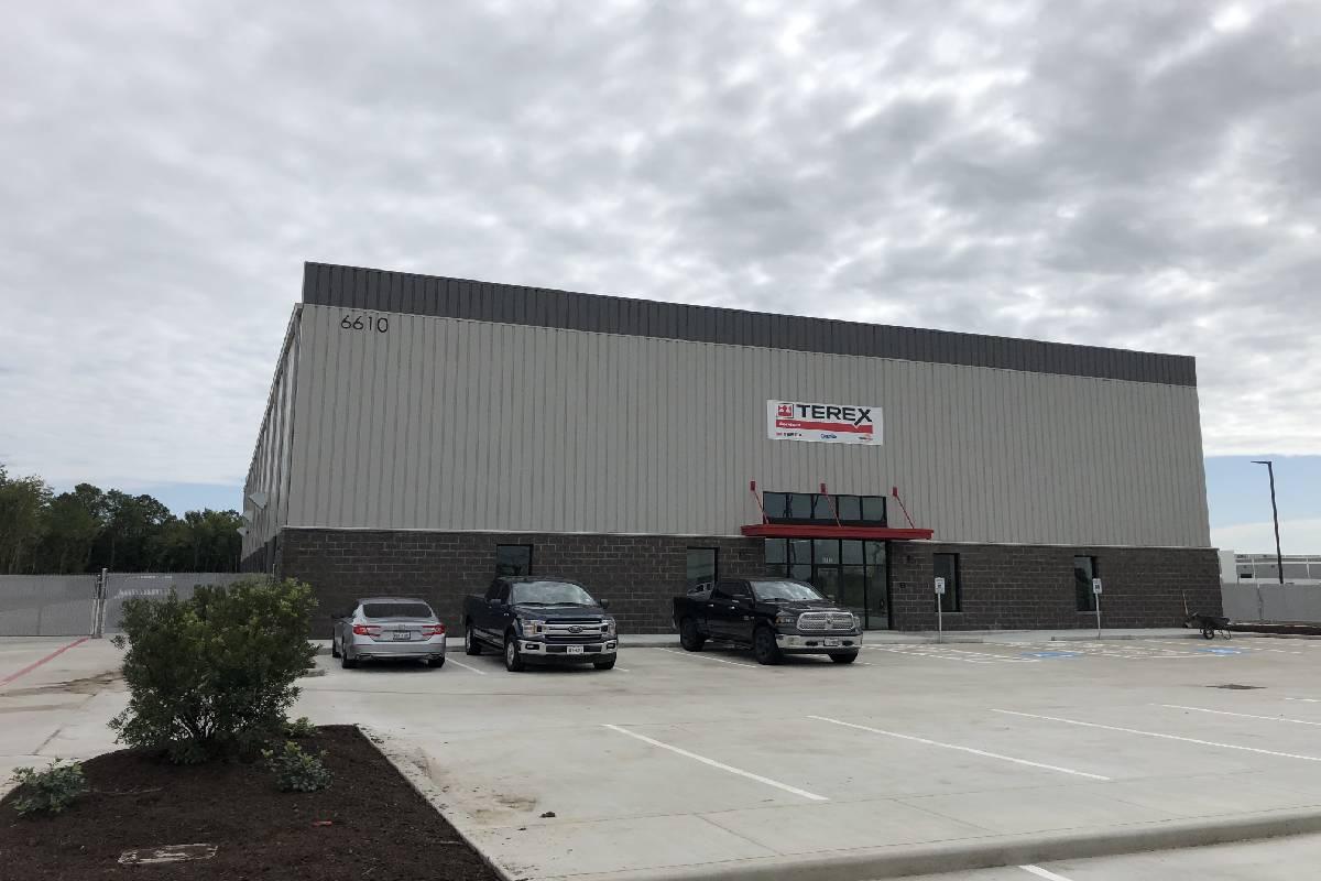 Terex Utilities Opens Third Service Center in Texas