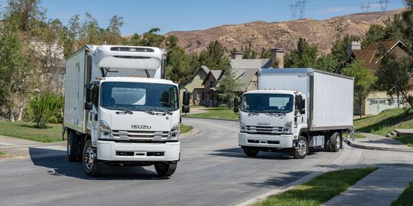Isuzu has started production of its F-Series truck models in Charlotte, Michigan.