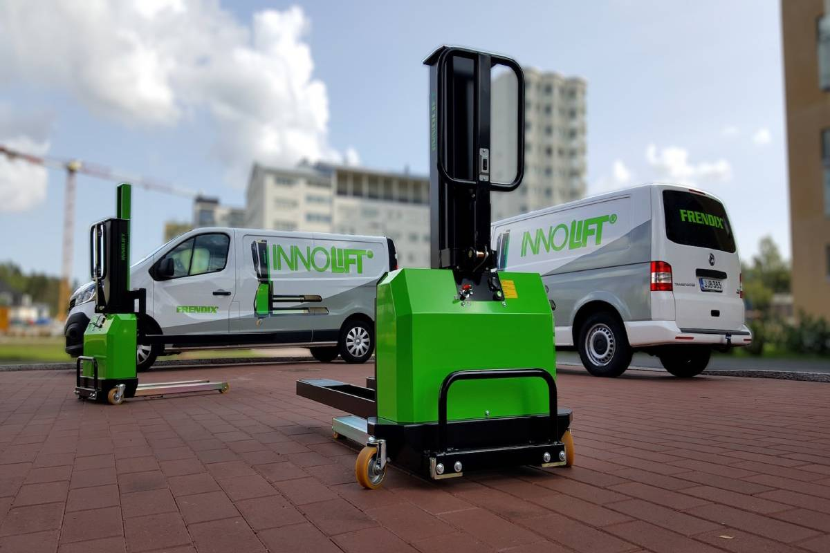 InnoLIFT USA Website Details Portable Forklifts for Vans, Trucks