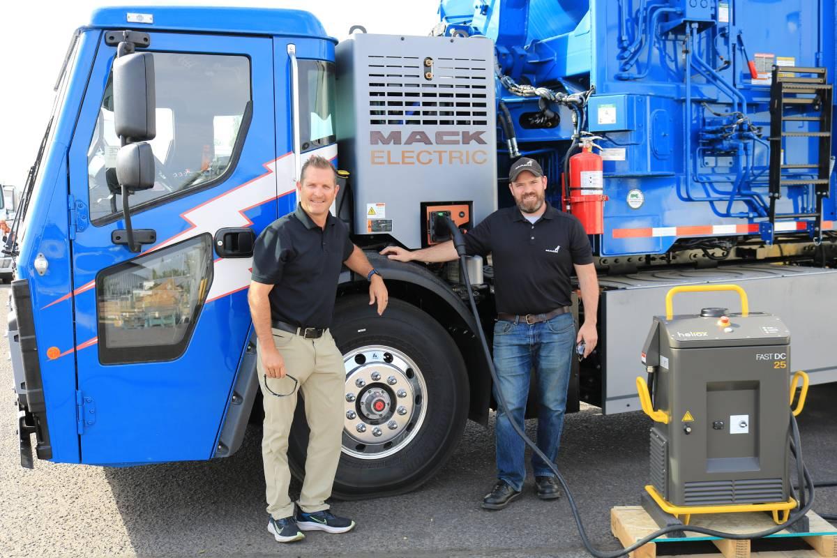 Northwest Equipment Sales Becomes Mack Certified EV Dealer