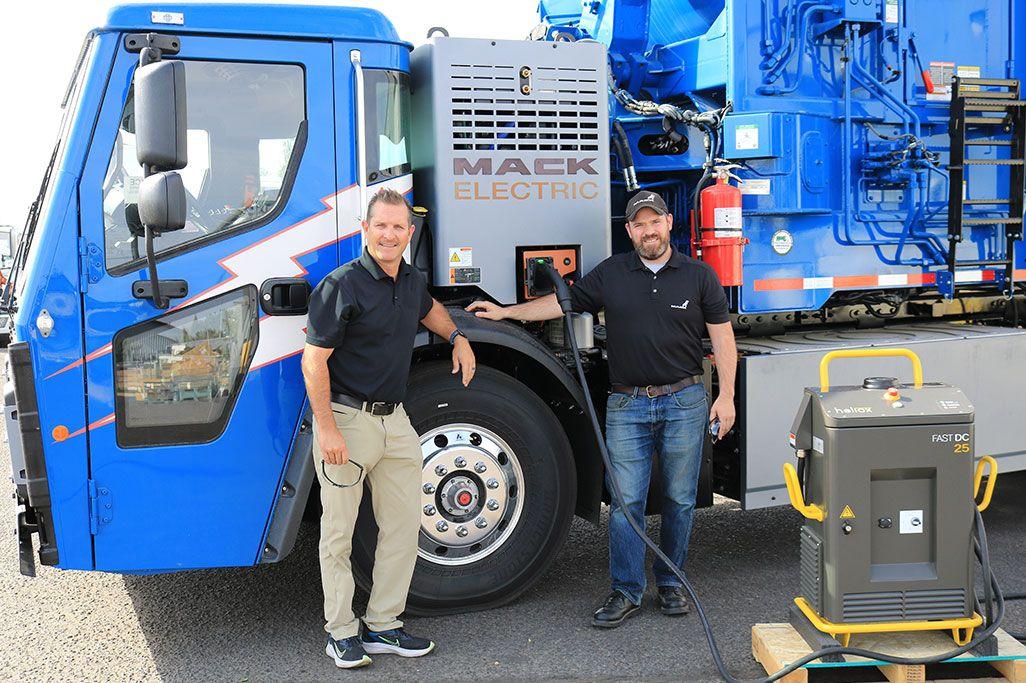 Mack Certifies First Electric Vehicle Dealer in Northwest
