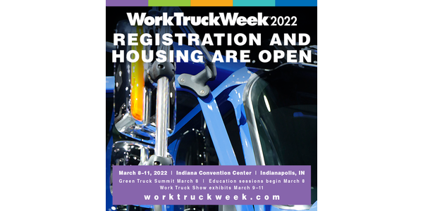 Work Truck Week 2022 is scheduled from March 8-11.