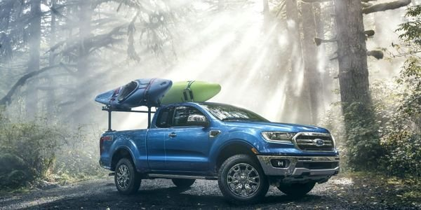 The 2019-MY Ford Ranger Super Cab (pictured) is among the vehicles recalled for seatbelt safety...