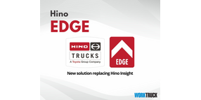 Hino Edge Connected Vehicle Solution Replaces Hino Insight