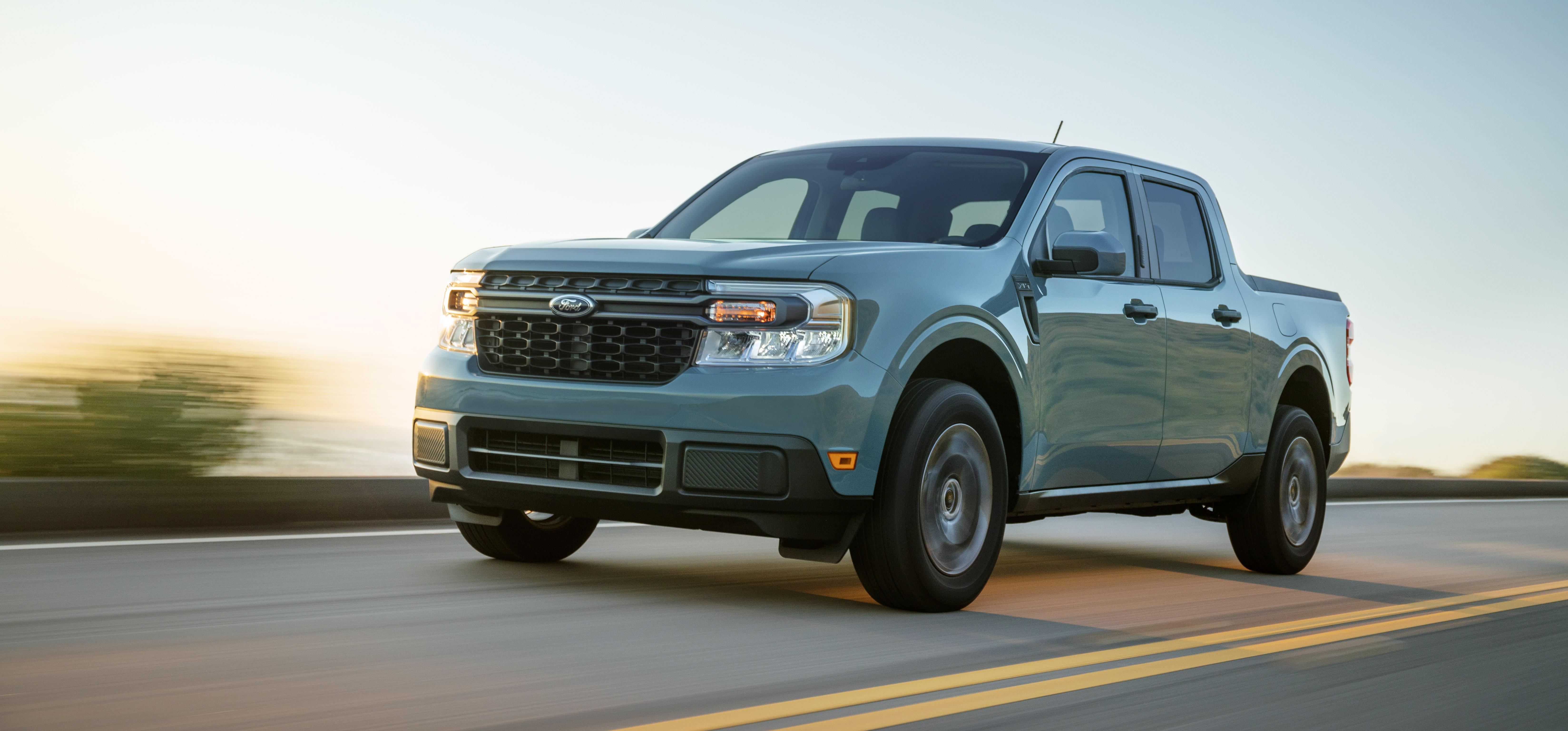 Ford Maverick Hits 42 MPG City