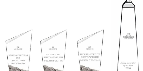 Adrian Safety Solutions Safety Award recipientshave shown superior commitment to workplace...