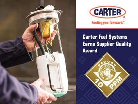Carter Fuel Systems Awarded for Quality