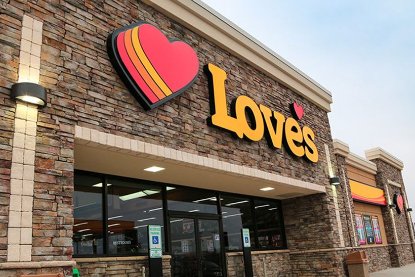 Love's opened two new travel stops, one in Wyoming and one in Michigan.