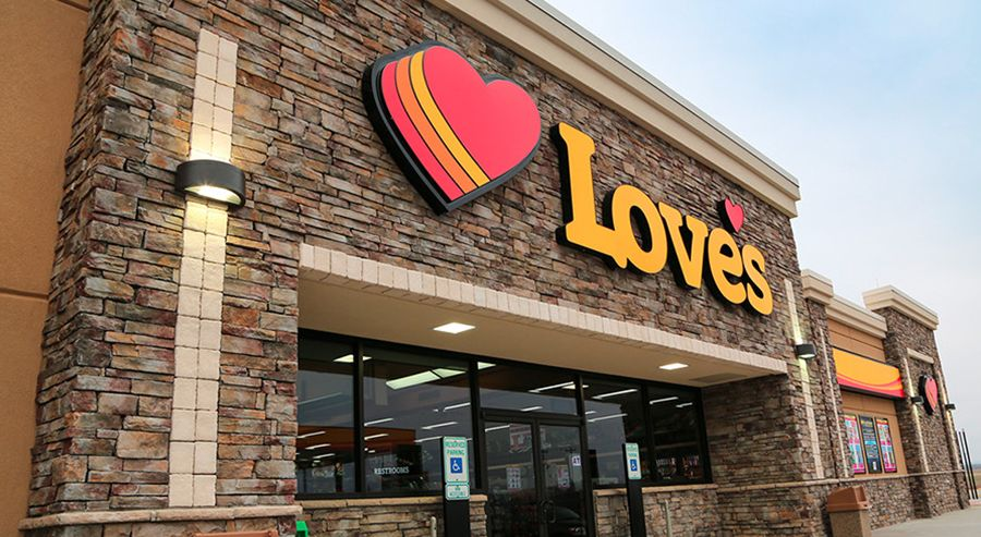 Love's Adds 182 Truck Parking Spots in 2 States