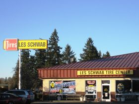 Tire Dealer Les Schwab up for Sale