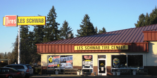 Les Schwab owns 492 stores in 10 states, with more than 7,000 employees and $1.8 billion annual...