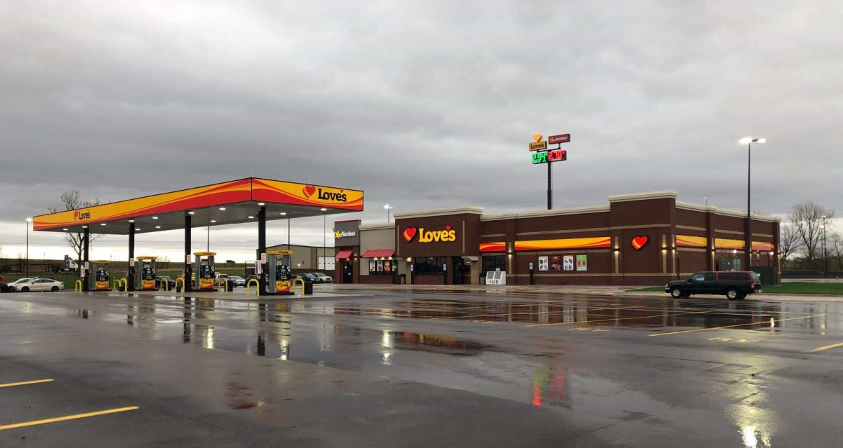 Love's Brings 75 Jobs & 51 Parking Spaces to Illinois