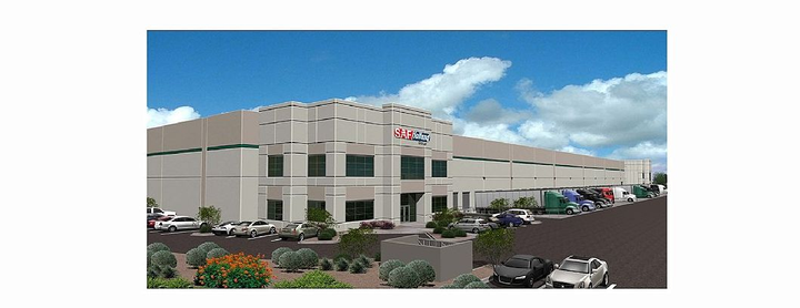 The nearly 45,000-square-foot facility, opening later in September, will provide capabilities to more efficiently supply replacement parts to distributors and dealers.  - Photo Courtesy of SAF-Holland
